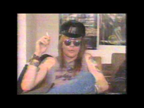 Guns n Roses 80's Interviews Part 1