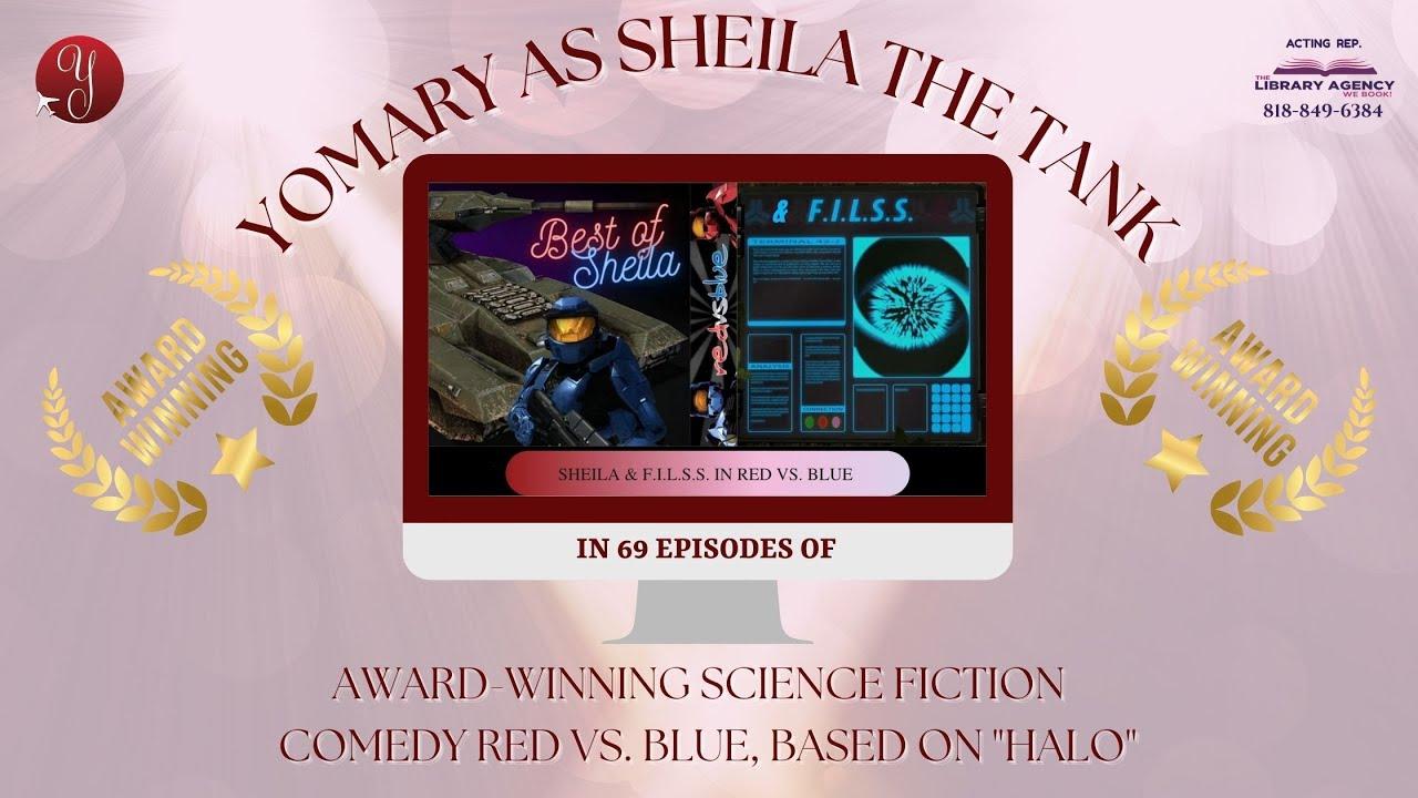 Yomary Cruz Animation/Machinima Voice-Over Reel