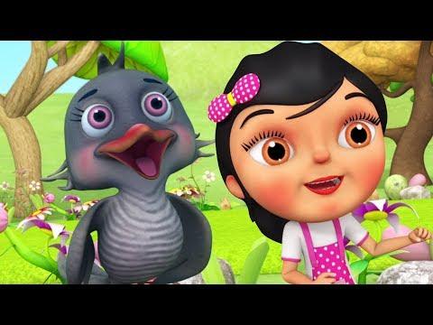 Kuhu Kuhu Bole Koyal | Hindi Nursery Song | Kids Channel India | कुहू कुहू बोले कोयल | Hindi Balgeet