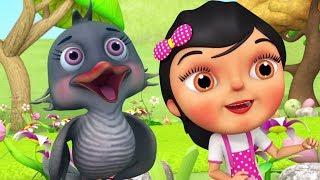 Kuhu Kuhu Bole Koyal   Hindi Nursery Song   Kids Channel India   कुहू कुहू बोले कोयल   Hindi Balgeet