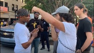 Kirk Franklin Rebuked by Street Preacher