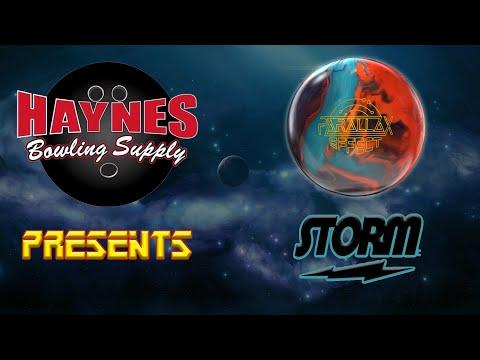 Storm Parallax Effect Bowling Ball - Team Haynes