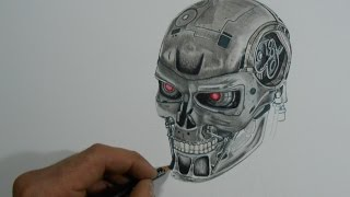 Drawing Terminator: Genisys - Time lapse