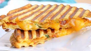 GRILLED MAYONNAISE SANDWICH   EASY YUMMY  BREAKFAST RECIPE