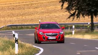 Opel Insignia OPC Facelift - Driving Review | AutoMotoTV
