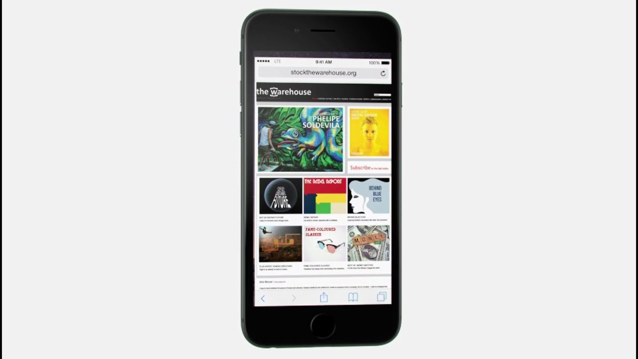 how to image search on iphone