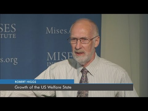 Growth of the US Welfare State   Robert Higgs