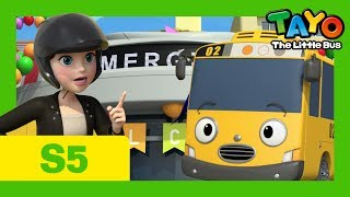 Tayo S5 EP6 l A new rescuer, Jay l Tayo the Little Bus