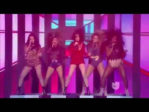 Fifth Harmony - Worth It / Dame Esta Noche (Live @ La Banda 13/12/2015)