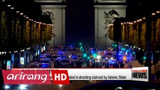 Islamic State group claims Paris shooting, one police officer killed