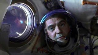 Так рождаются новости: фейковый репортаж о полете Медведева в космос