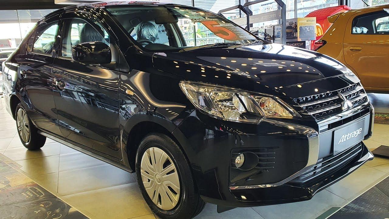 Mitsubishi Attrage mới phiên bản GLX CVT