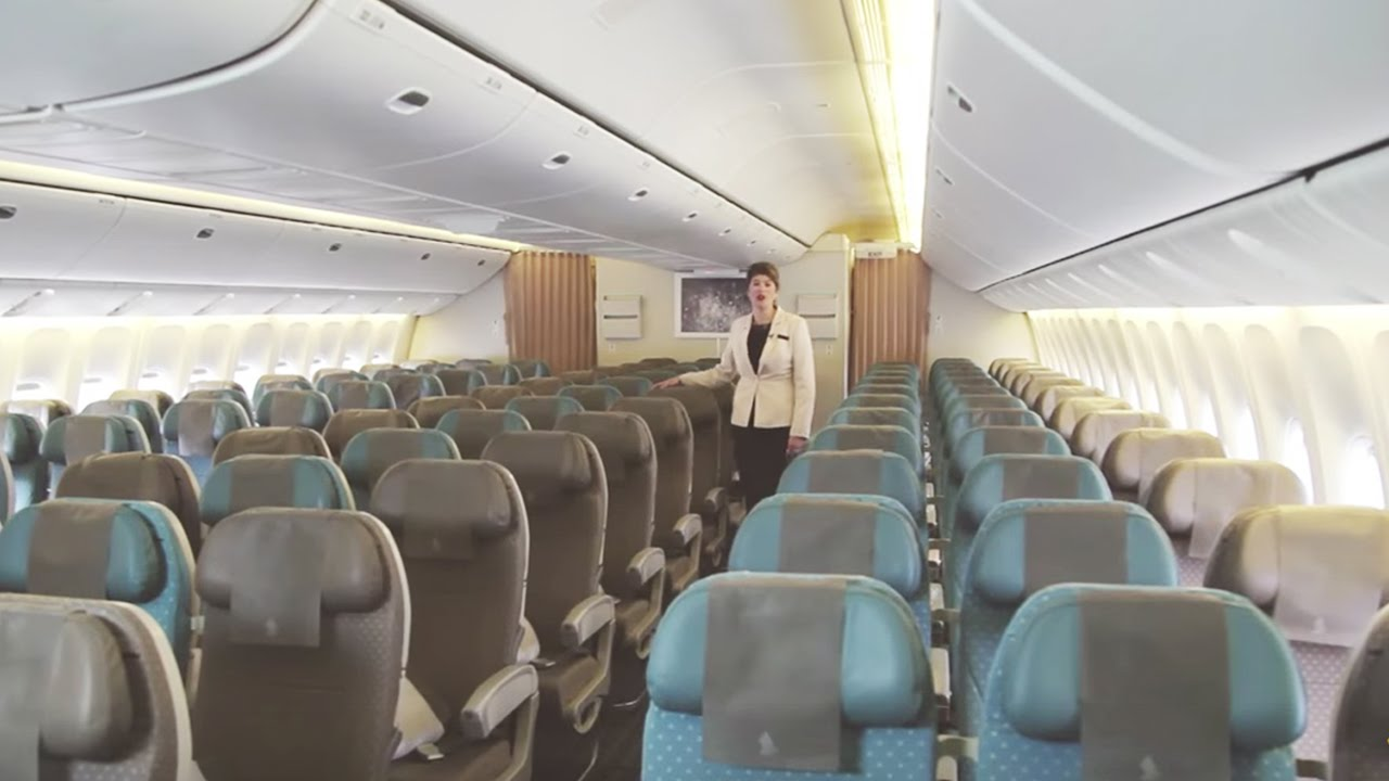 777 Interieur Experience Economy Class On The Boeing 777 300er Singapore Airlines