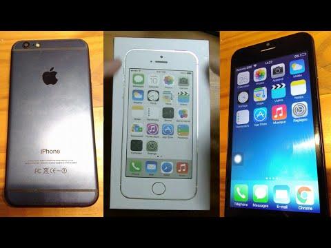 "Goophone i6 - Copie de merde d'Apple iPhone 6 ! - avec ""iOS"" 7.1 xD"