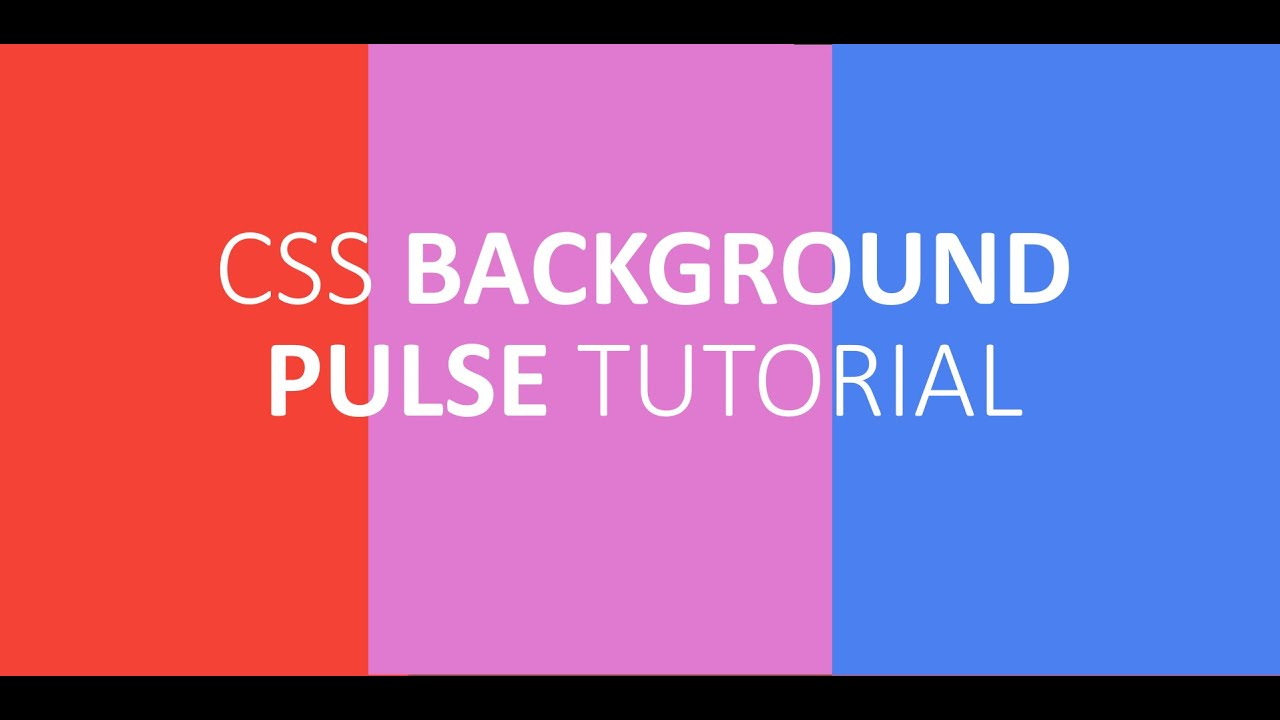 Background image header css - Css Background Pulse Animation Twisted Core Tutorial