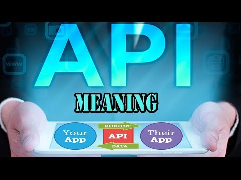 What is An API-- Application Programming...