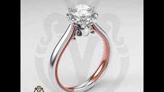 Engagement Rings by Verragio: Renaissance-942R