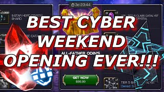INSANE Cyber Weekend Opening!!! Marvel Contest of Champions