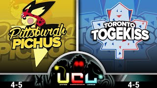Pittsburgh Pichus VS Toronto Togekiss [UCL W10] Pokemon Omega Ruby/Alpha Sapphire WiFi Battle