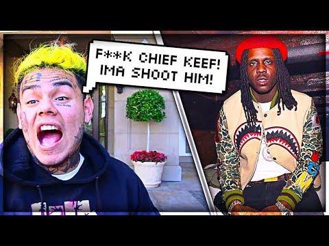 6IX9INE Runs Into Chief Keef Beef / Drama