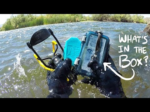 I Found a Sealed Waterproof Box Underwater in the River! (Returned to Owner - With Surprise!)