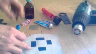 видео Ремонт надувных матрасов Intex