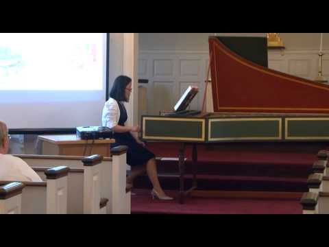 OS   Dr  Solee Clark   History of the Harpsichord   5 9 15