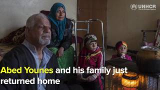 Mosul residents face battle for survival