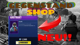 New Abstract Skin and Harvest tool 🔴 👌 daily OBJECT SHOP Fortnite Battle Royale