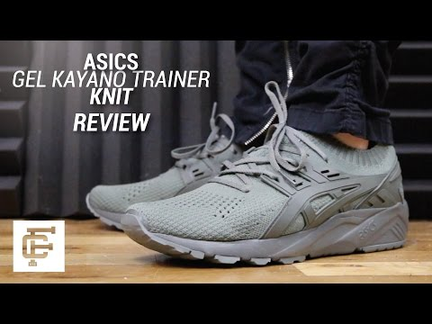 ASICS GEL KAYANO TRAINER KNIT REVIEW