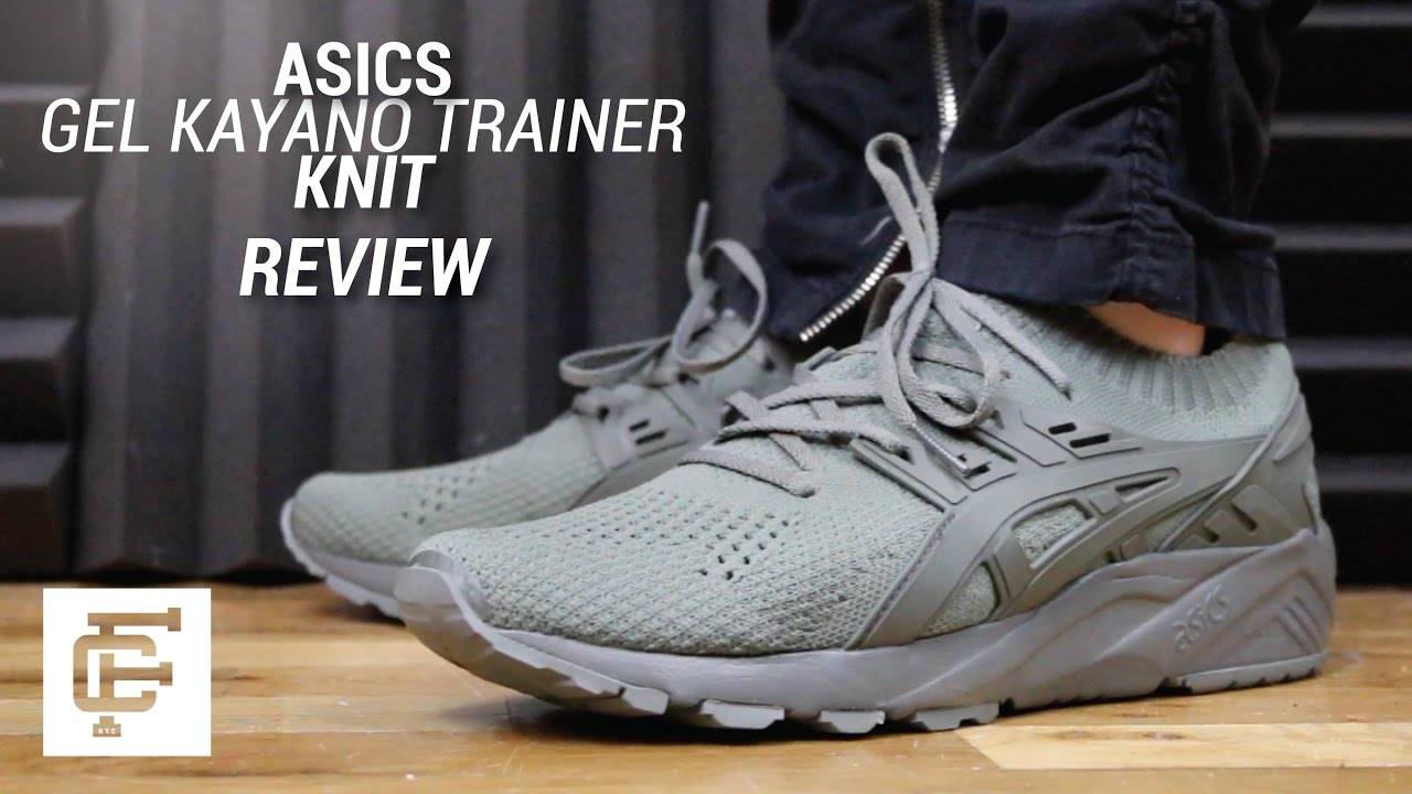 sports shoes 89ae7 4d399 ASICS GEL KAYANO TRAINER KNIT REVIEW