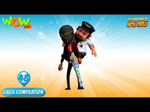 Motu Patlu - Funny Gags #48 - 1 hour episodes! thumbnail
