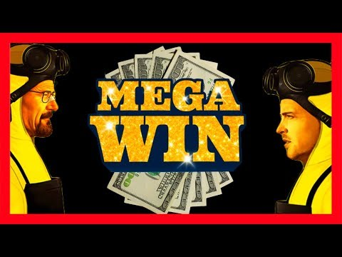 MEGA WIN! Breaking Bad Slot Machine LIVE PLAY & Bonuses With SDGuy!