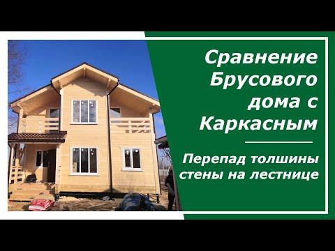 Сравнение брусового дома с каркасным