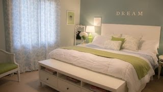 Decorating Tips- How to Decorate your bedroom on a budget
