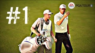 Rory McIlroy PGA Tour Career Mode - Episode 1 - WEB.COM TOUR! (Ps4/Xbox One Gameplay 1080p HD)