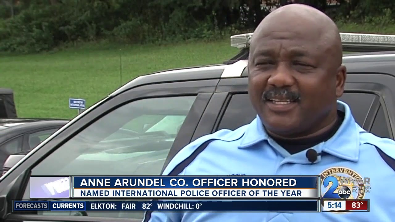 Black Police Officer honored 'International Police Officer of the Year'