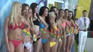 Sawa Dytkowska z koroną Miss Lata Aquaparku Kutno