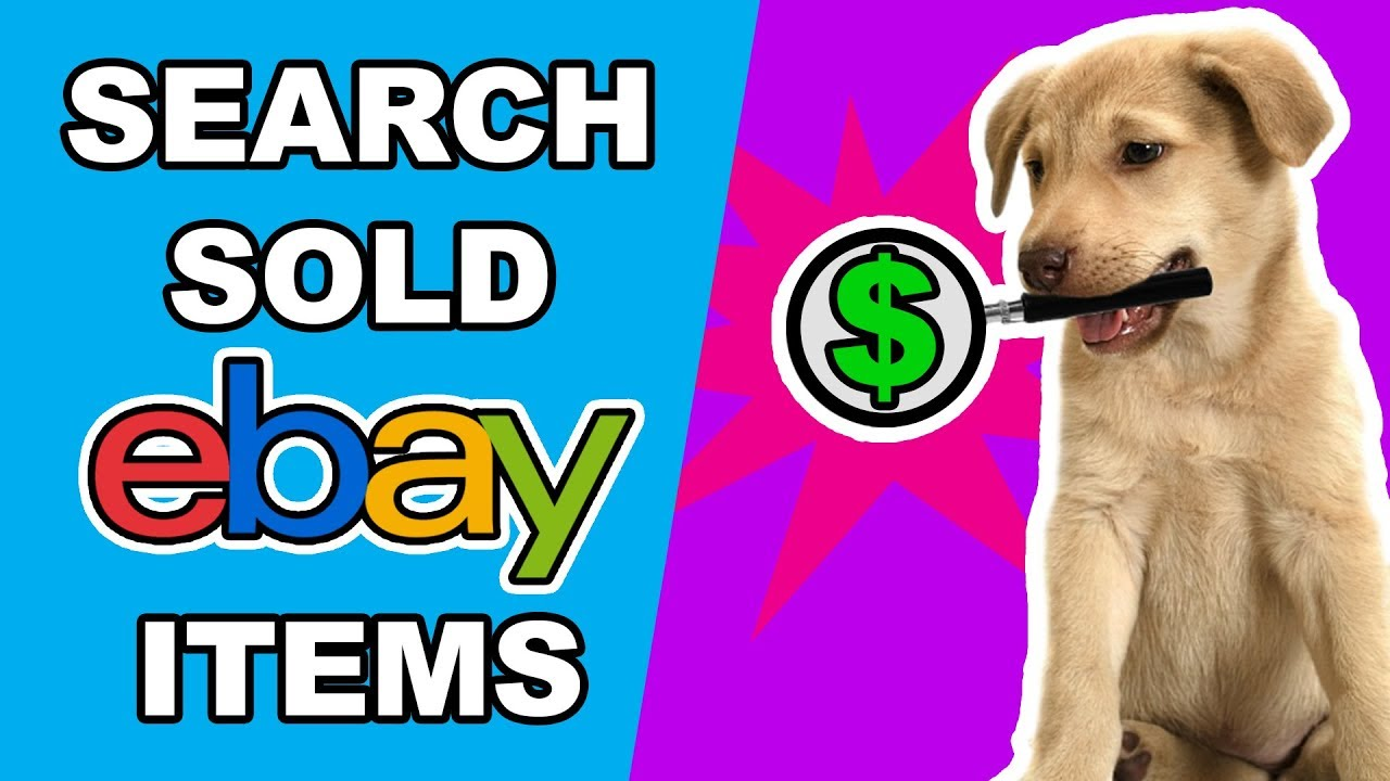 How To Search Sold Items On Ebay Youtube