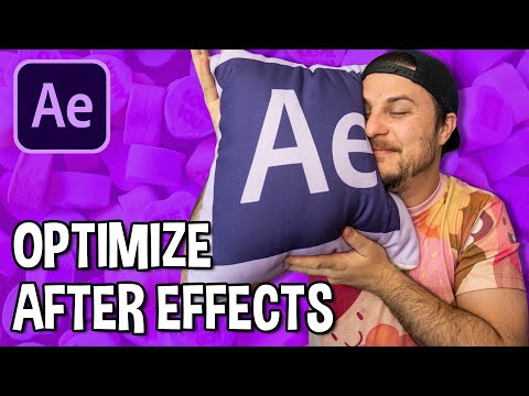 How to Optimize Adobe After Effects for Performance 2020