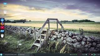 Customise XFCE desktop   arch linux