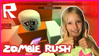 Zombie Rush - I'M SO GOOD AT THIS GAME | Roblox