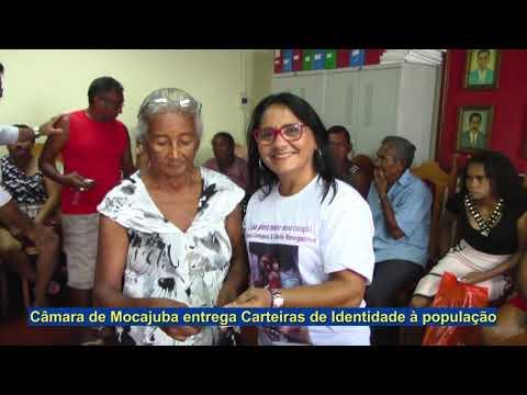 Câmara Municipal de Mocajuba entrega Carteiras de Identidade à população.