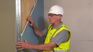 HOW TO - Soundproof walls with Siniat dB Plasterboard