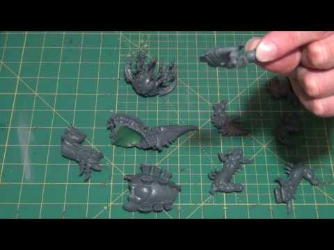 Warhammer 40K Haruspex/Exocrine assembly and magnetization