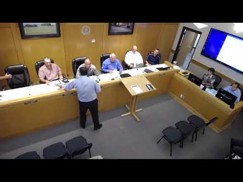 Roosevelt City Council meeting Aug. 1, 2017