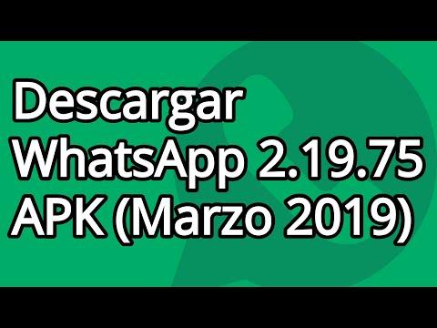 Descargar WhatsApp 2.19.75 APK (Marzo 2019) 1