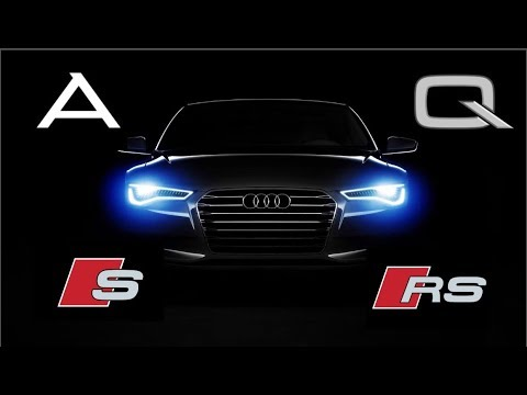 Модельный ряд Audi [Чем отличаются модели Audi]