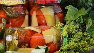 ПОМИДОРЫ С БОЛГАРСКИМ ПЕРЦЕМ на зиму – Вкуснее Вы не найдёте!