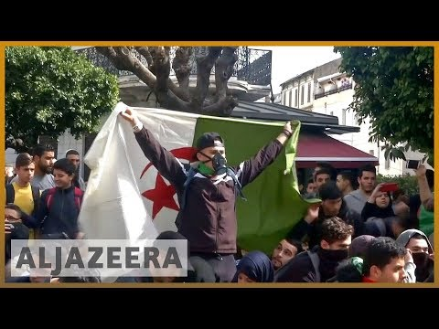🇩🇿 Armed with memes, Algerian students join anti-Bouteflika protests | Al Jazeera English